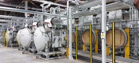 Four Multi Chambres de cémentation basse pression | ECM Technologies