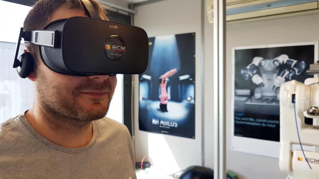ECM robotics virtual reality